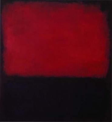Whenever I look at this Mark Rothko I find myself gazing deeply into another world...so peaceful