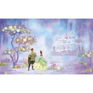 Roommates disney the princess and the frog xl wall mural for Disney princess wall mural tesco
