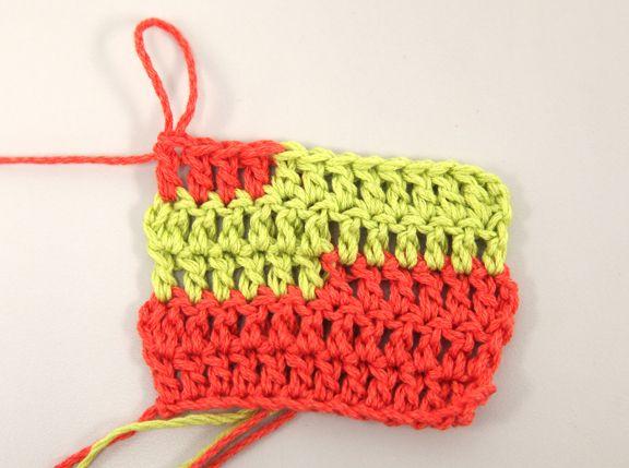 How to Change Colors in Crochet: Crochet Ideas, Crochet Techniques, Changing Colors, Crochet Stitches, Angel Cards, Crochet Mad, Crochet Patterns, Crochet Helper, Crochet Knits