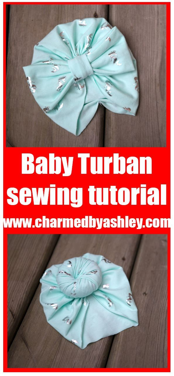 Newborn baby turban hat, # newborn #turban   – Strick Mode