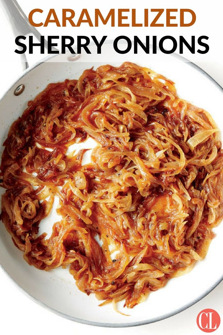 Super savory thanks to a combination of olive oil and butter, these perfectly caramelized onions make the perfect burger topping or pasta stir-in. | Cooking Light