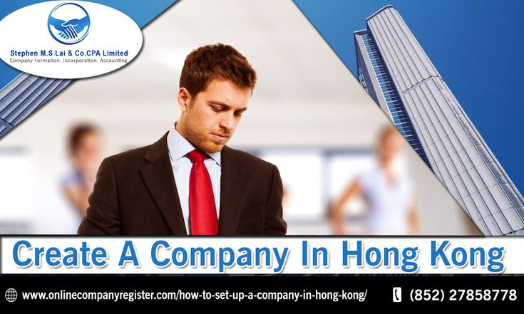 Create a Company in Hong Kong Online Company Register.