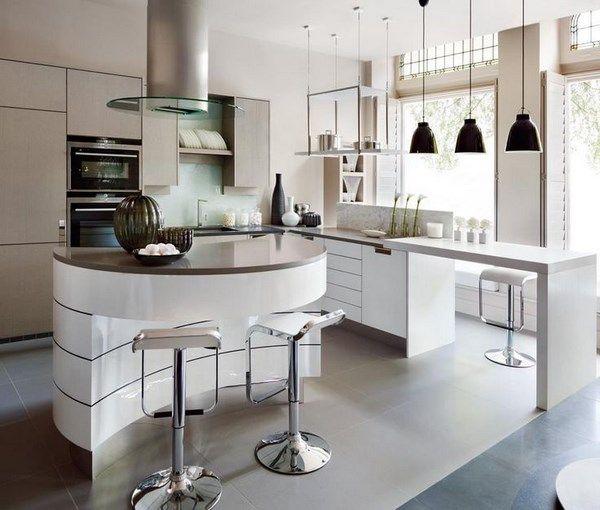 Модные кухни 2017-2018 года: фото, новинки, современный дизайн кухни. Лучшие идеи дизайна маленькой кухни в разных стилях, красивый дизайн интерьера кухни в белом, красном, зеленом цвете.