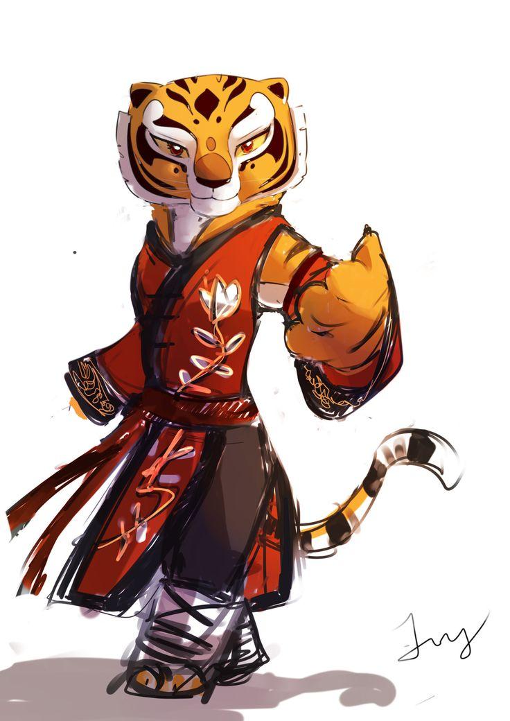 Po and Tigress : Photo