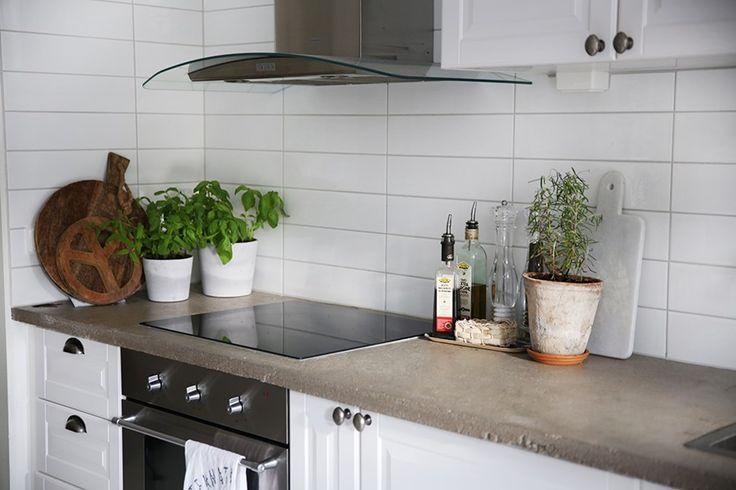 bänkskiva betong kök - Sök på Google