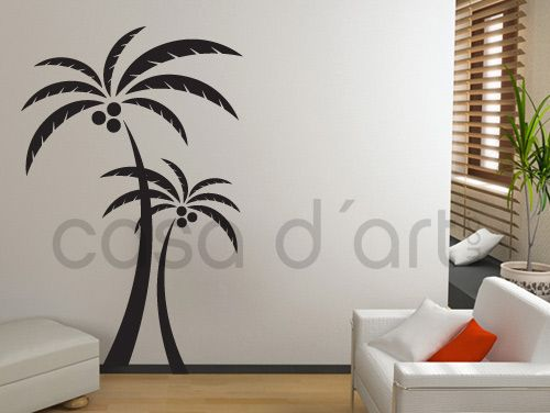 Palm tree vinyl: Craft, Tree Decal, Cameo Flowers Insects Trees, Color, Palm Trees, Car Decals, Vinyl Wall Decals, Vinyl Decals