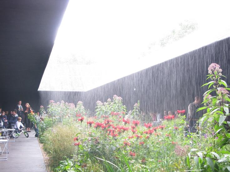 Peter Zumthor / Serpentine Pavilion / Rain