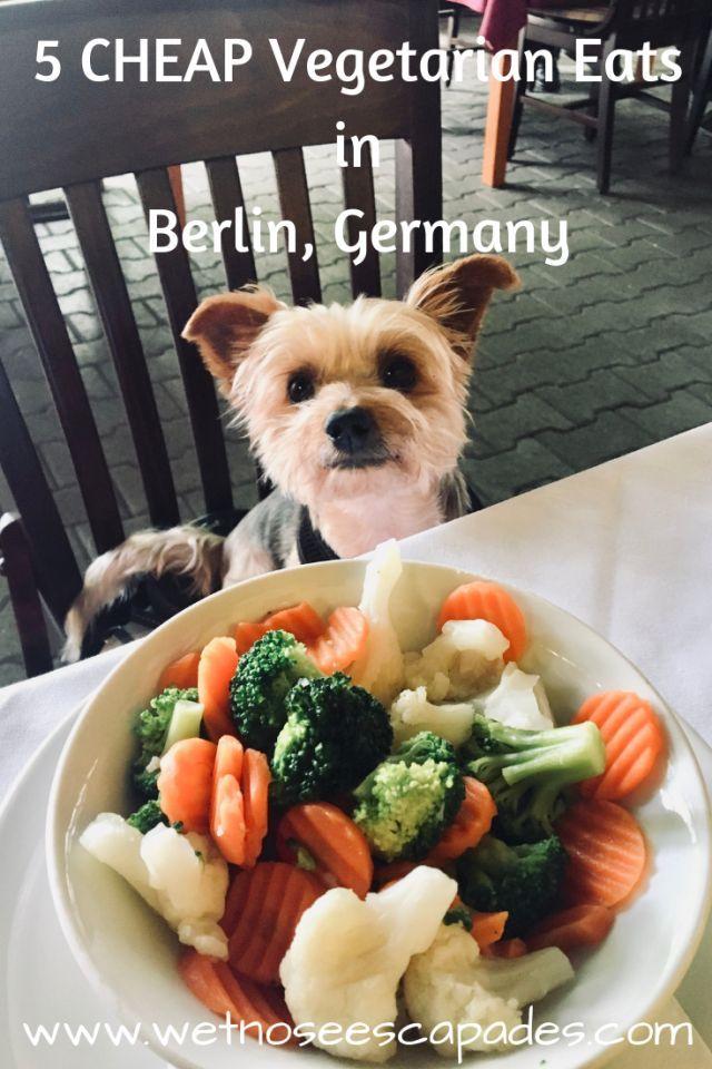 5 CHEAP Vegetarian and Vegan Meals in Berlin, Germany