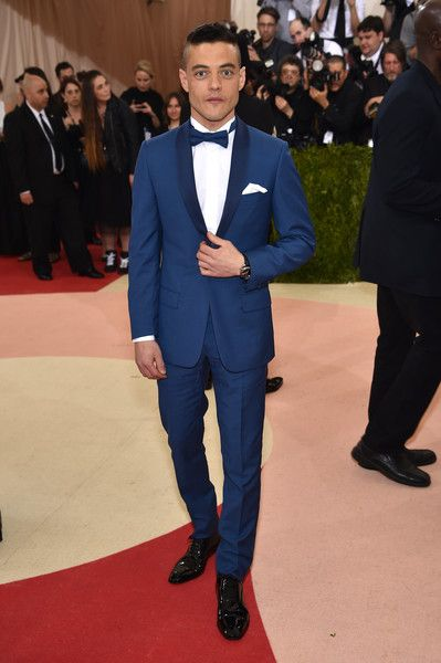 """Rami Malek attends the """"Manus x Machina: Fashion In An Age Of Technology"""" Costume Institute Gala at Metropolitan Museum of Art on May 2, 2016 in New York City."""