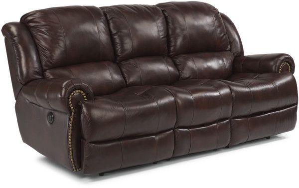 1 995 00 Flexsteel Capitol Power Reclining Sofa Home