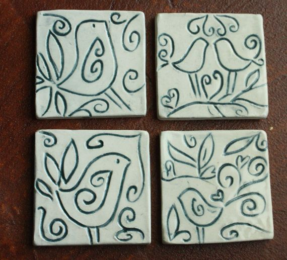 Best 25+ Ceramic coasters ideas on Pinterest | Pottery gifts ...
