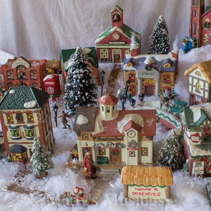 Christmas Village Decorations Ideas: 280 Best Christmas Village Images On Pinterest