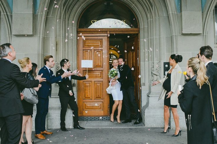 This Swiss Wedding Perfectly Exemplifies Elegance