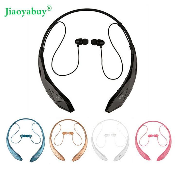 Jiaoyabuy Bluetooth Headset Wireless Sports stereo headphone bluetooth earphone Support microphone handsfree calls for LG Iphone //Price: $15.66//     #electonics