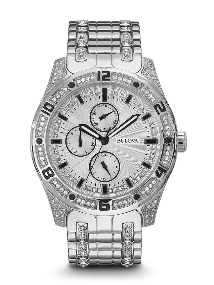 9 best mens bulova watches crystal collection images on pinterest bulova watches crystal for Crystal watches
