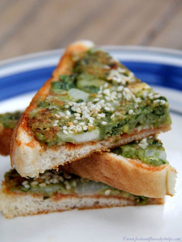 Paneer Moong Toast