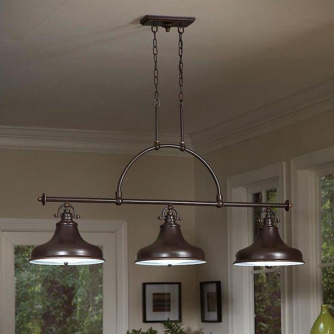 Quoizel Emery Palladian Bronze Vintage Kitchen Island Light Lowes Com Interior Pendant Lighting Pendant Light Fixtures Kitchen Island Lighting