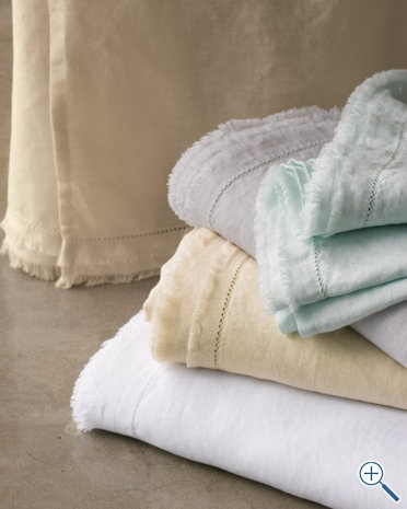 Washed Linen Bedding