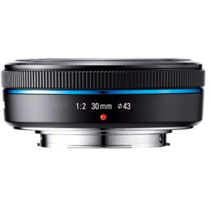 Samsung S30NB - 30 mm - f/2 Lens for NX mount