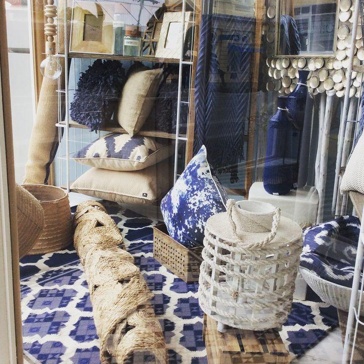 New window #navy #natural #white #rugs #mirror #cushions #homewares #quinceyjac
