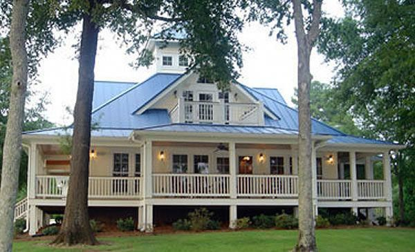 The Island Cottage House Plan Is A Playful Coastal Cottage Getaway Which Could Feel At Home Any Southern Cottage Porch House Plans Country Cottage House Plans