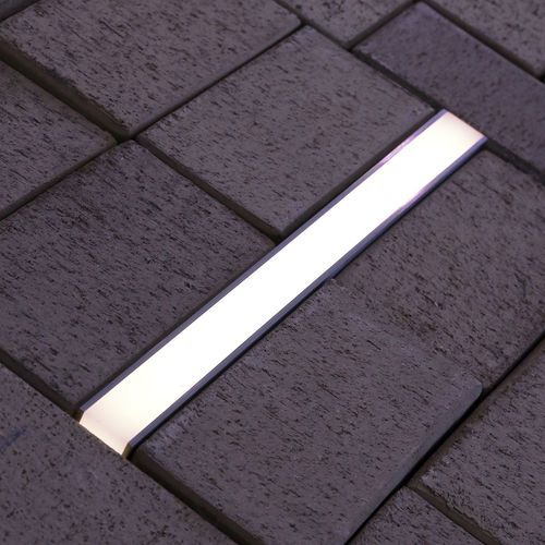 Recessed floor light fixture / LED / linear / outdoor LANE TRIF
