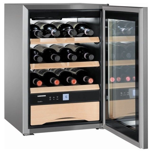 Liebherr WS 1200 Grand Cru–Design & Lifestyle 17-inch Wine Cabinet with 1 Temperature Zone