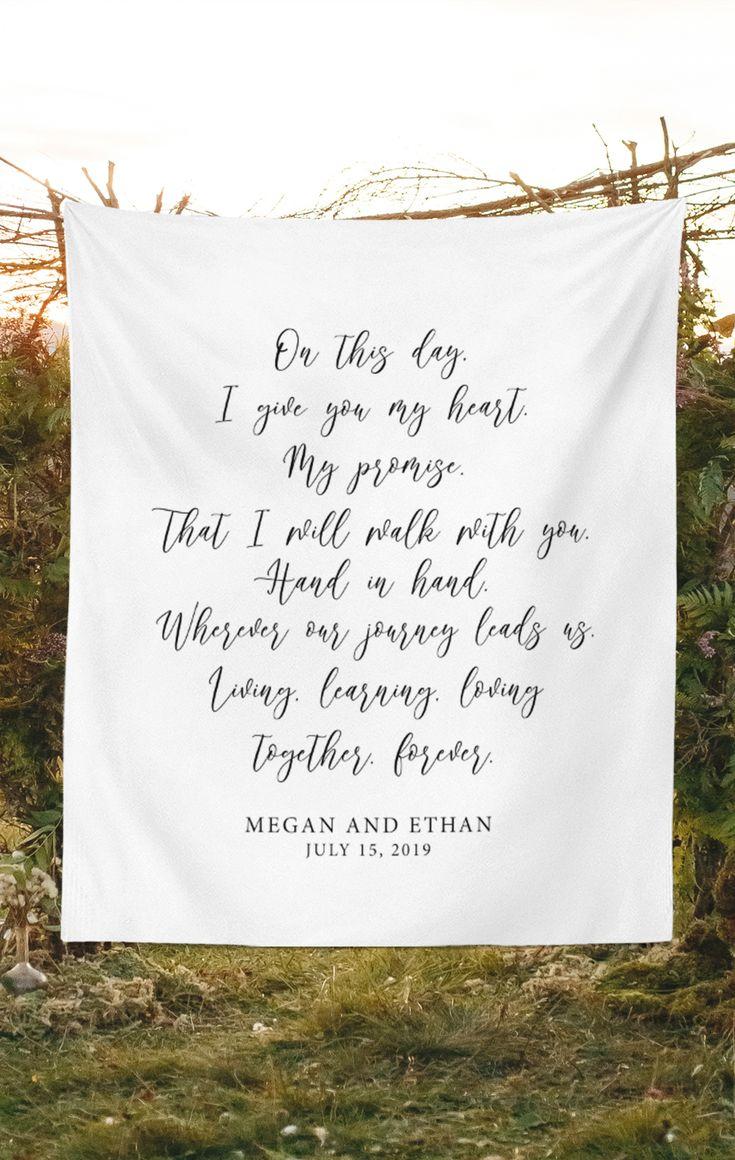 Rustikale Hochzeit Gelübde Hintergrund Ideen   – White Rustic Wedding | Inspiration & Ideas