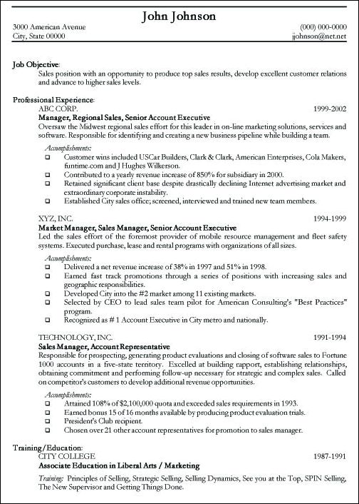 professional resume sample free httpjobresumesamplecom243 professional format of a professional resume