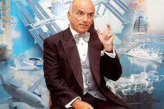 Dennis Tito became the first space tourist when he launched toward the International Space Station in April 2001. Here, he shares his experiences at a space conference in 2003.Credit: NASA Kennedy Space Center: Tourist Dennis, Spaces, Space Station, Mars Trip, Space Tourist, 2001 Dennis