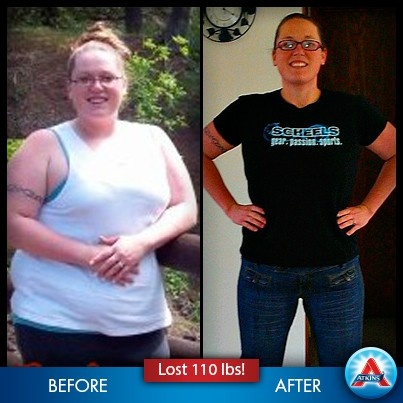 atkins weight loss 4 months