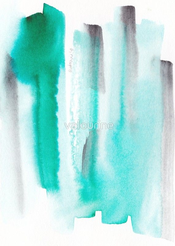 12 Peace 181106 Green Black Watercolor Brush Strokes