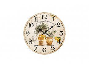 Nástěnné hodiny - L´Oliveier de Provance
