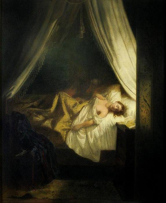 Eugène Delacroix (French, 1798-1863). Le vampire, 1825