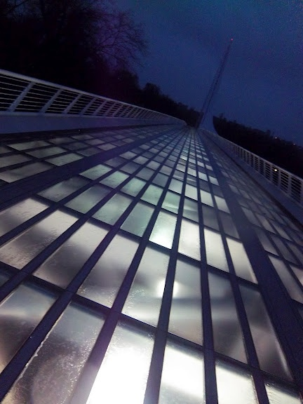 Sundial Bridge deck ~ Redding, CA
