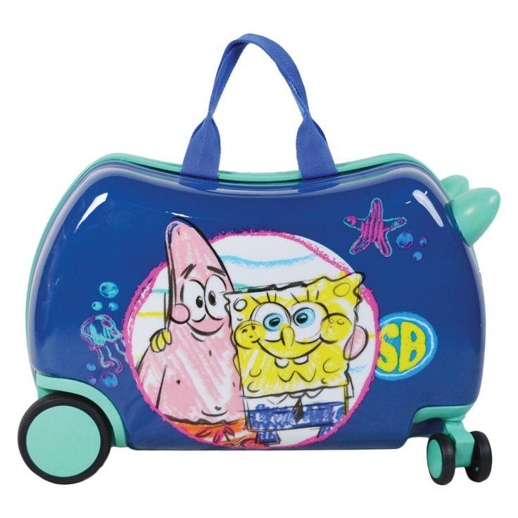 Nickelodeon SpongeBob Hardside Spinner Luggage Bag - 6177