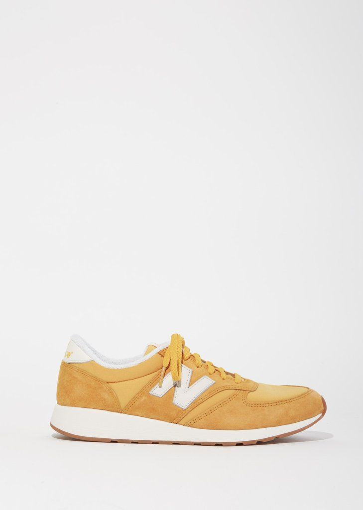 Shop 420 Suede Nylon Sneakers from New Balance at La Garçonne. La Garçonne offers curated designer goods from luxury and emerging designers.