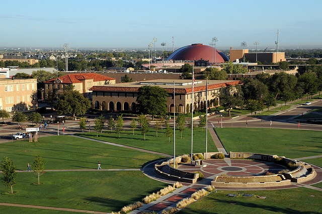Texas Tech Campus. Spent 6 years here and recieved a BS and MEd.  Best and worst time of my life.