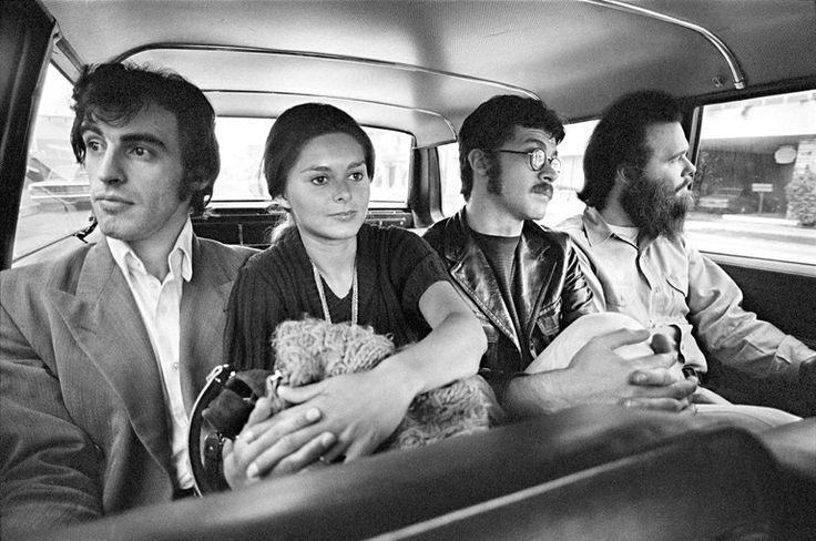 Jane and Richard Manuel, Robbie Robertson and Garth Hudson '69 by Elliott Landy