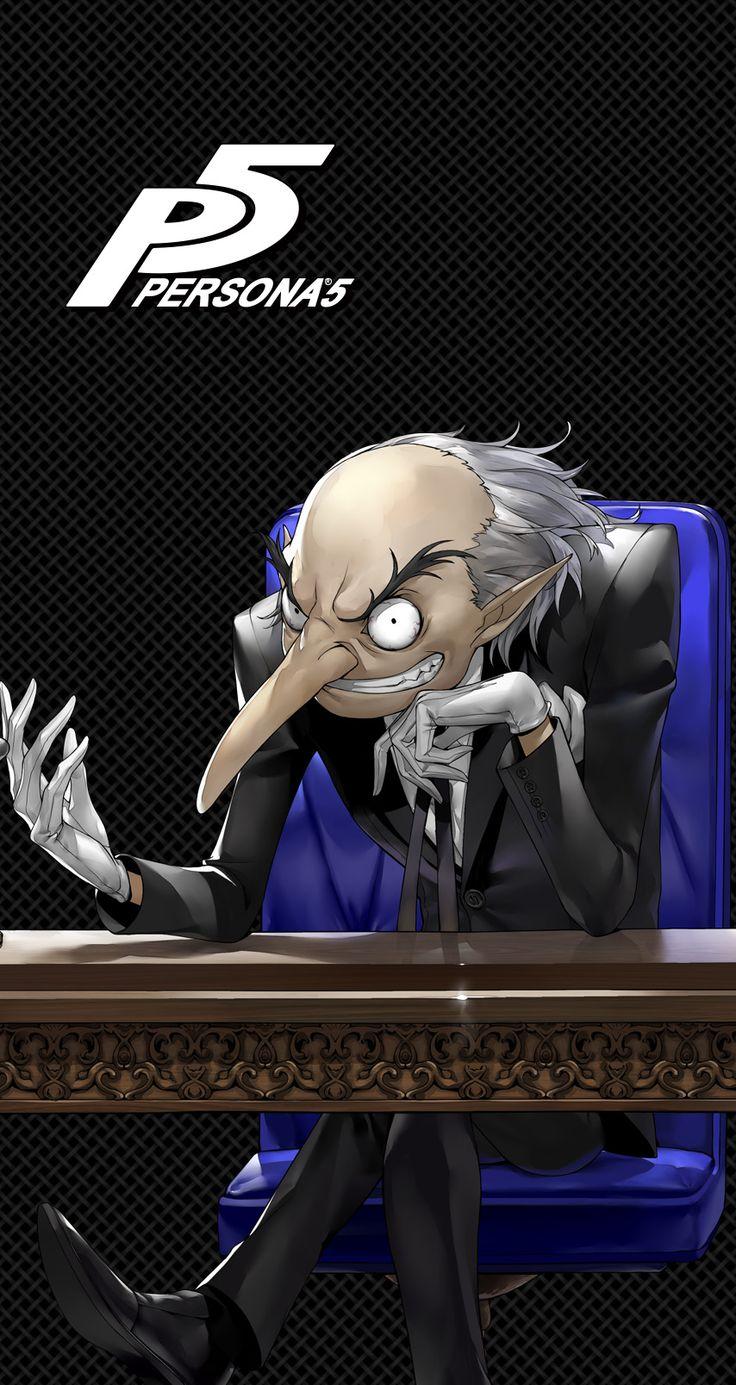 Persona 5 Igor Persona 5 Anime Persona 5 Persona