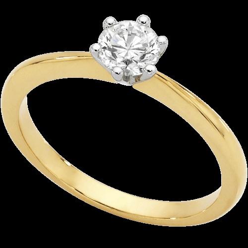 1/2 CARAT DIAMOND SOLITAIRE