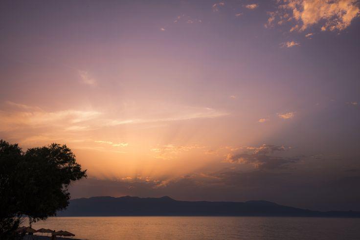 Blue Dome Hotel || Amazing nature at the beach in Platanias.  #sunset #beach #sea #besthotel #chania #crete #greece #greekislands