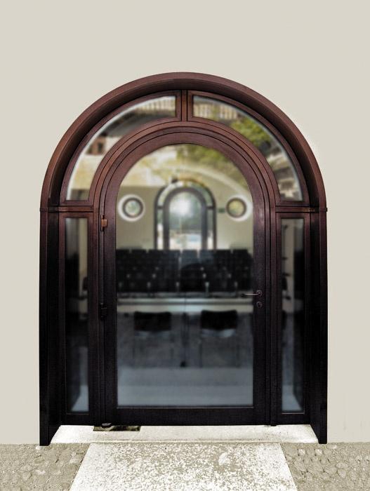 Cor-Ten Steel Entry Door by America Italiana