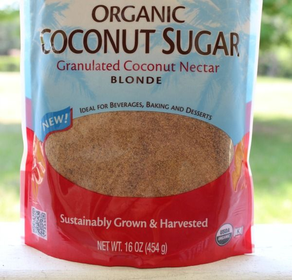 Why coconut (palm) sugar is healthy AND sustainable.