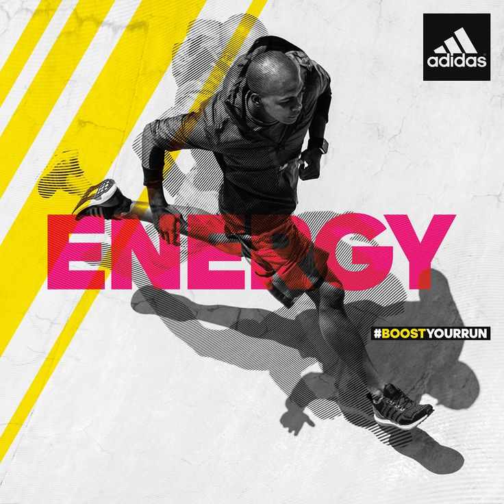 adidas Ultra Boost SS15 Energy Takes Over Campaign on Behance