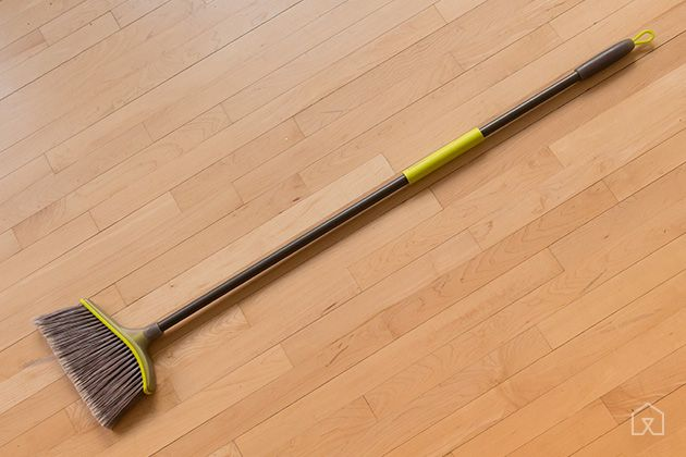 The Best Broom   The Casabella Wayclean Wide Angle Broom is the best at sweeping, the most comfortable to hold, and the least expensive broom we tested.