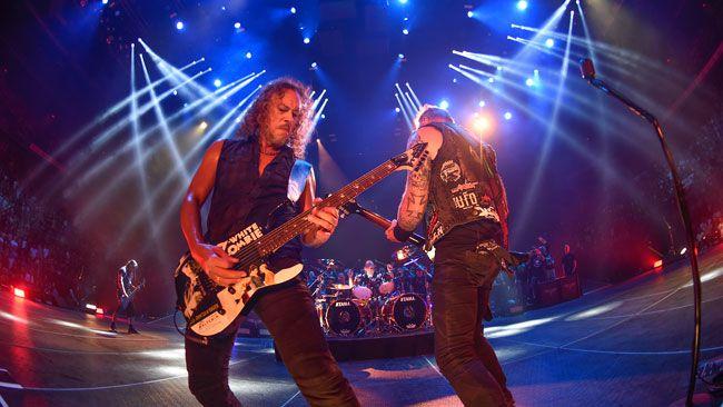 Le groupe Metallica fait résonner le Colisée Pepsi une dernière fois