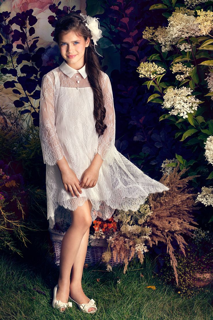 Papilio Ceremony Collection features flower girl and special occasion dresses.