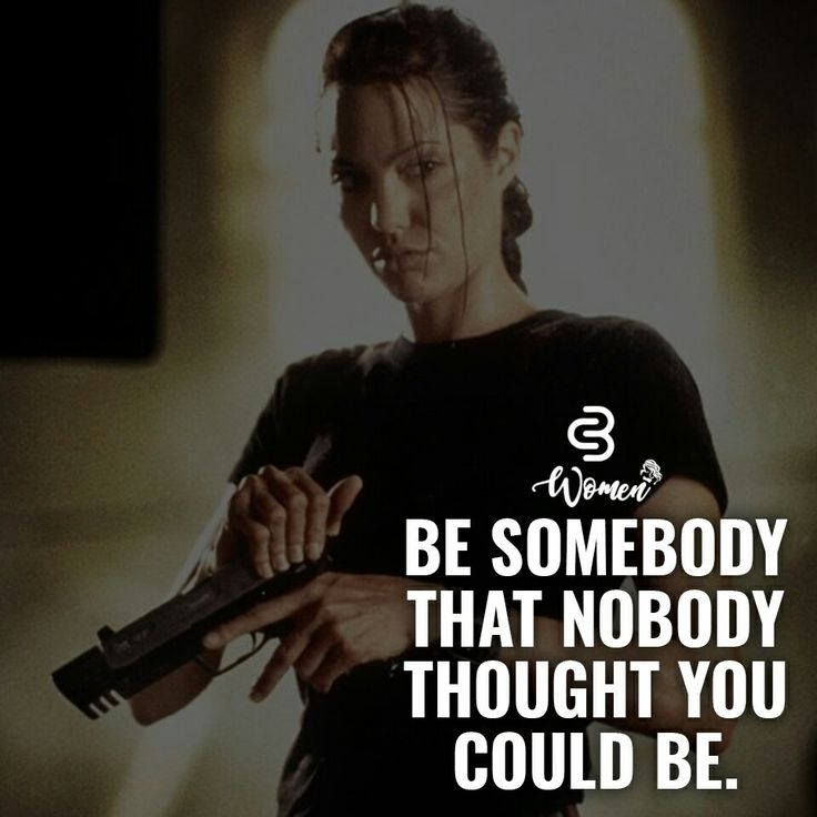 Be somebody that nobody thought you could be. Quote