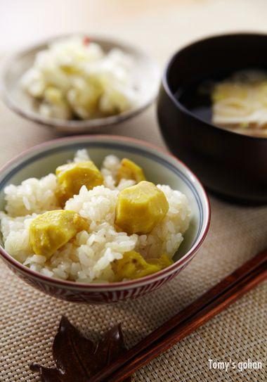 Japanese Chestnut Rice 栗おこわ